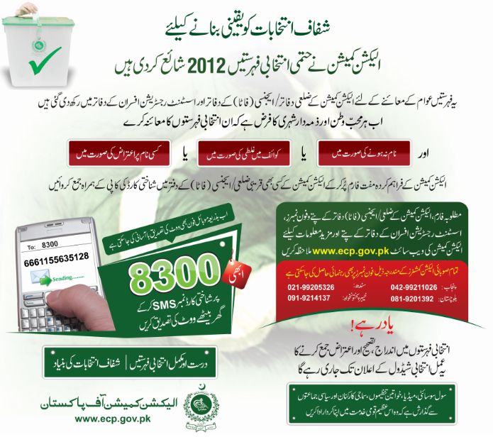 How to check Voter Registration In Pakistan