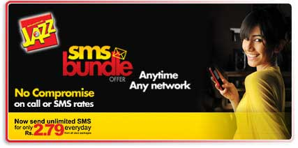 Mobilink Jazz Daily SMS Packages