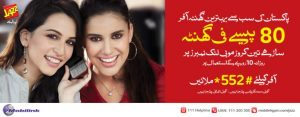 Mobilink Behtreen Ghanta Offer