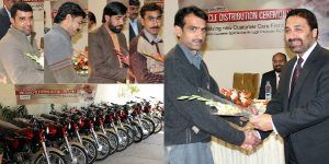 PTCL Provides Motorcycles to Customer Care Staff