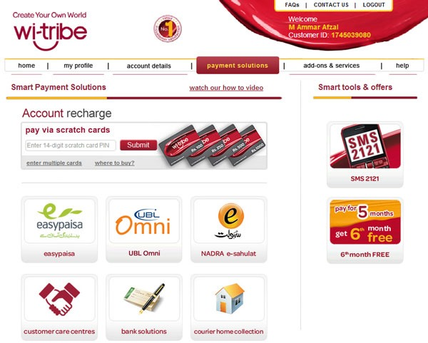 Wi-Tribe smart payment solutions-page-Snapshot