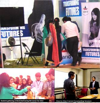 Warid Gives Career Advice to Students