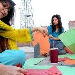 Girls Basant Festival