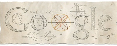 Leonhard Euler Honored By Google Doodle