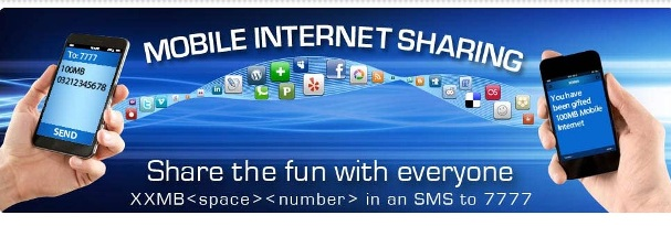 Warid Mobile Internet Sharing Offer