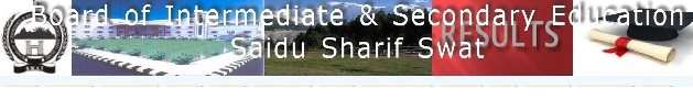 BISE Swat Board 9th Class Result 2013
