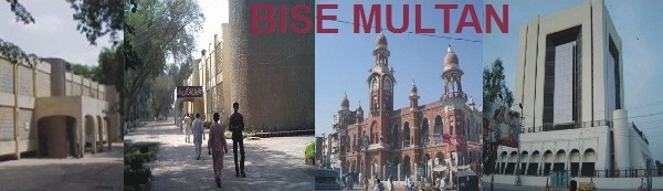 BISE Multan Board 12th Class Results 2013