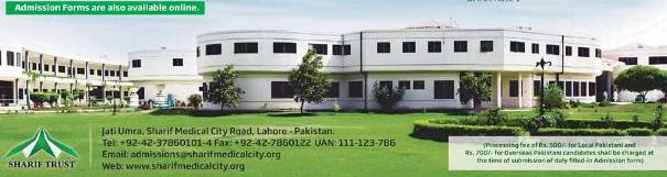 Sharif Medical & Dental College Admisiions