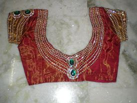 Latest Designers Saree Blouse Designs 2014