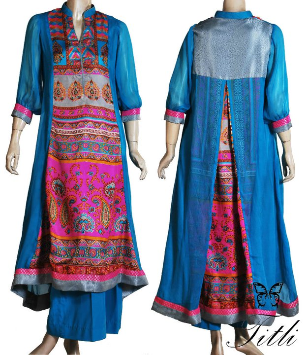 Latest Long Shirts Designs In Pakistan 2014