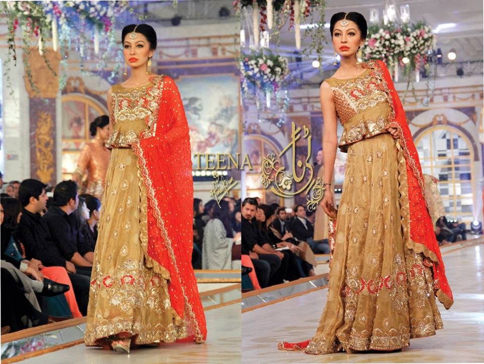 Latest Pakistani Bridal Dresses 2016