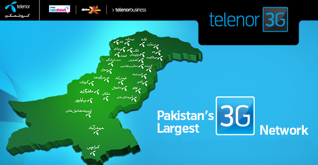 Telenor 3G Packages Daily, Weekly & Monthly