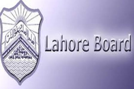 BISE Lahore 10th Class Date Sheet 2015
