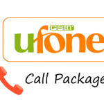 Ufone Call Packages Daily, Weekly and Monthly